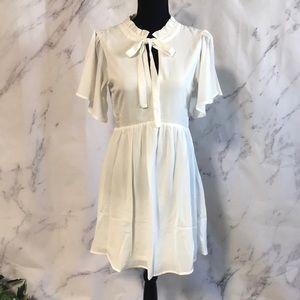 Dresses & Skirts - OFF WHITE TUNIC DRESS